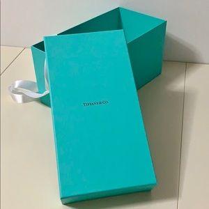 Tiffany & Co. Gift Box with Ribbon